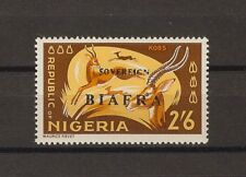 "NIGERIA/BIAFRA 1968 . SG 13a ""Red Overprint Omitted"" MNH Cat £300"
