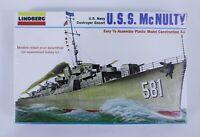 Vintage Lindberg U.S.S. McNulty U.S. Navy Escort Destroyer 1:535 Scale Model NEW