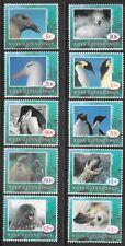 Ross Dependency 1994 Animals of Antarctica, 10 Stamp Set.