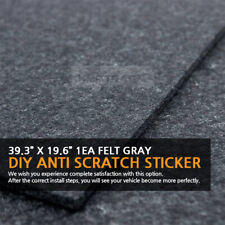 39.3?X 19.6?Felt Gray DIY Anti Scratch Sticker 1EA for HYUNDAI KIA Vehicles