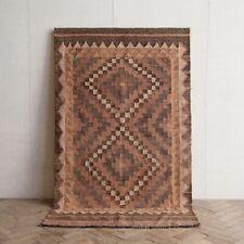 Vintage Afghan Flat Woven Kilim Rug 186 x 99cm Mid Century