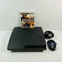 Sony PS3 Slim CECH-3001B 320GB Console System Bundle 1 Game + HMDI