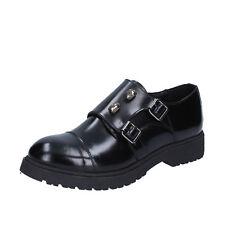 scarpe donna ISLO ISABELLA LORUSSO 39 EU classiche nero pelle lucida BZ224-E