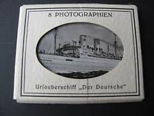 8x Original Photos Urlaubsschiff Der German Ex. Sierra Morena