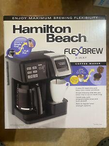 *NEW* Hamilton Beach FlexBrew 2-Way Coffee Maker - Black