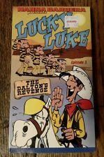 New Sealed Lucky Luke: Episode 3 - Daltons Revenge (VHS, 1999)