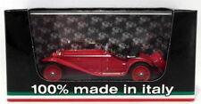 Modellini statici di auto , furgoni e camion rossi alfa romei marca Brumm