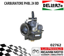02762 Carburetor Dellorto Phbl 24 Bd 2T Air Manual With Mixer Universale