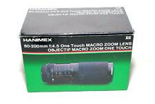 Hanimex SP-MC Telezoom 80-200mm f/4.5 mit M42 Anschluß (sehr gut)