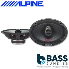 "Alpine SPG-69C3 Type G 3-Way 700 Watts a Pair 6x9 6"" x 9"" Shelf Van Car Speakers"