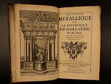1688 1ed Numismatics in Holland Netherlands Coins Money Medals 80 Years War