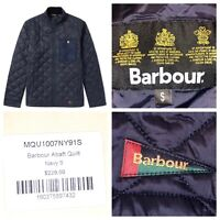NWT Barbour Men's Abaft Quilted Full Zip Jacket Size Small