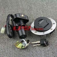 Schloßsatz Schlüssel Zündschloß Schlösser für Suzuki GSX1300R Hayabusa 99-07