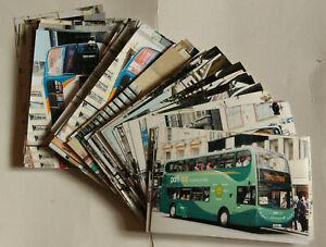 """BUS PHOTOS over 130 Modern Buses Double/Single deckers 6x4"""" photos"""