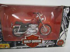 (400) Maisto 1:18 scale Harley Davidson MOTORCYCLE  XL 1200C Sportster Custom