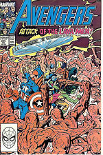 The Avengers #305 (1989; vf 8.0) Byrne & Ryan + Palmer