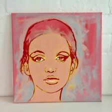 Medium (up to 36in.) Pink Original Art