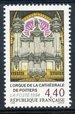 STAMP / TIMBRE FRANCE NEUF N° 2890 ** ORGUE CATHEDRALE DE POITIERS