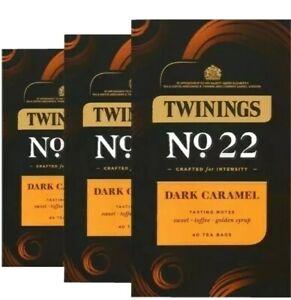 Twinings Dark Caramel No 22 - 120 Bags