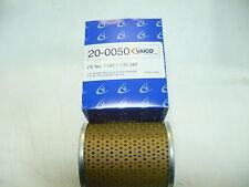 VAICO BMW E36 M50-M52 ENGINE 24V 6 CYLINDER UPTO 09/95 OIL FILTER 11421730389