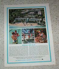 1965 print ad - Playboy Club Resort Hotel Ocho Rios Jamaica travel vintage AD