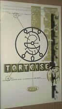 Tortoise + Oval Rare Original 1998 Live Concert Gig Poster 23inch Heavy Stock