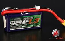 Turnigy Nano-tech 1300mAh 3S 11.1V 25-50C lipo batterie rc avion héli voiture