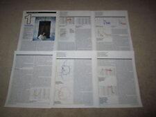 Klipsch Klipschorn Speaker Review, 6 pgs, 1986, Most Complete Test Ever!