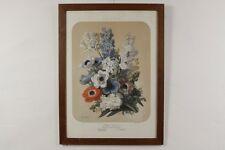 Elisa-Honorine Champin ALBUM VILMORIN Blumenstilleben Farblithographie um 1870