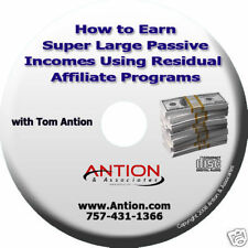 Earn Large Incomes Using Residual Affiliate Programs