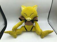 Abra Yellow Pokemon Legacy Tomy Plush Kids Soft Stuffed Toy Animal Doll Nintendo