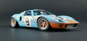 1:12 scale Ford GT40 Mk I - 1968 Le Mans Winner #9 - A-M1201004