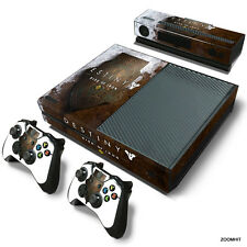 Xbox One Console Skin Decal Sticker Destiny Rise Of Iron + 2 Controller Skins