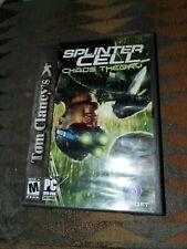Tom Clancy's SPLINTER CELL CHAOS THEORY [PC DVD-ROM]