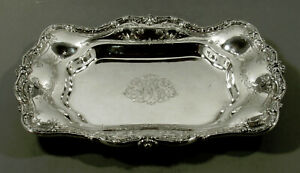 Black, Starr & Frost Sterling Asparagus Tray             c1890
