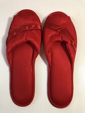 Vintage Madge's Red House Slippers 7.5 Never Worn