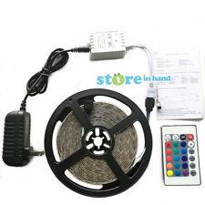 SMD 3528 RGB LED Strip Light Waterproof IR Remote Control 5M AU Stock Multi Mode