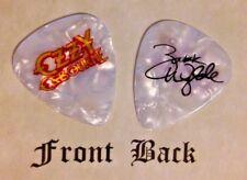 Ozzy Osbourne - Zakk Wylde band logo signature guitar pick -(w)
