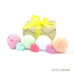 FIZZY BATH BOMBS  - Fizzy Bath Bombs -Luxury Wrapped Gift Set