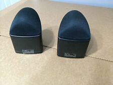 2x Mirage NANOSAT Satellite Speaker. For Home Theater system.Omnipolar.100% work