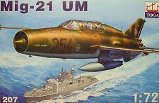 MiG-21 UM, 1:72 ,Toga, Plastik, NVA,Kroatien, Polen, Neu