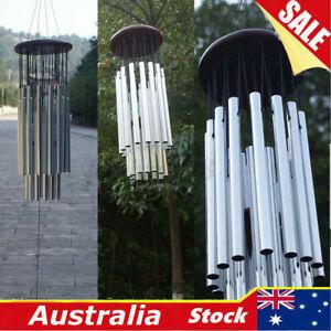 85cm Large Resonant Wind Chimes Bass Sound Church Bell Home Yard Garden Decor !