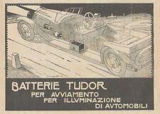 Z1689 Batterie TUDOR - Illustrazione - Pubblicità d'epoca - 1922 Old advertising