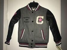 NWT Girls Converse Gray Jacket (Size 6)