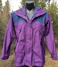 Columbia Women's Omnitech Sports Packable Light Weight Jacket/Shell Size Small