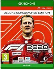 F1 2020 Deluxe Schumacher Edition XBOX ONE NO CD NO KEY