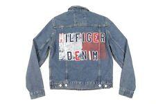 TOMMY HILFIGER 78B6619 495 BLUE MEDIUM DENIM PATCH PRINT...