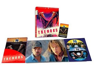 TREMORS LIMITED EDITION / BLU RAY+DVD+BOOKLET+MAGNET / IMPORT / WORLDWIDE P+P