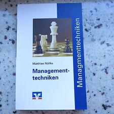 Taschenbüchlein - Managementtechniken von Matthias Nöllke aus dem DG Verlag