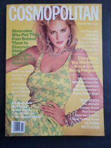 1986 Cosmopolitan Ashley Richardson Margaret Atwood Chuck Norris Julie Christie
